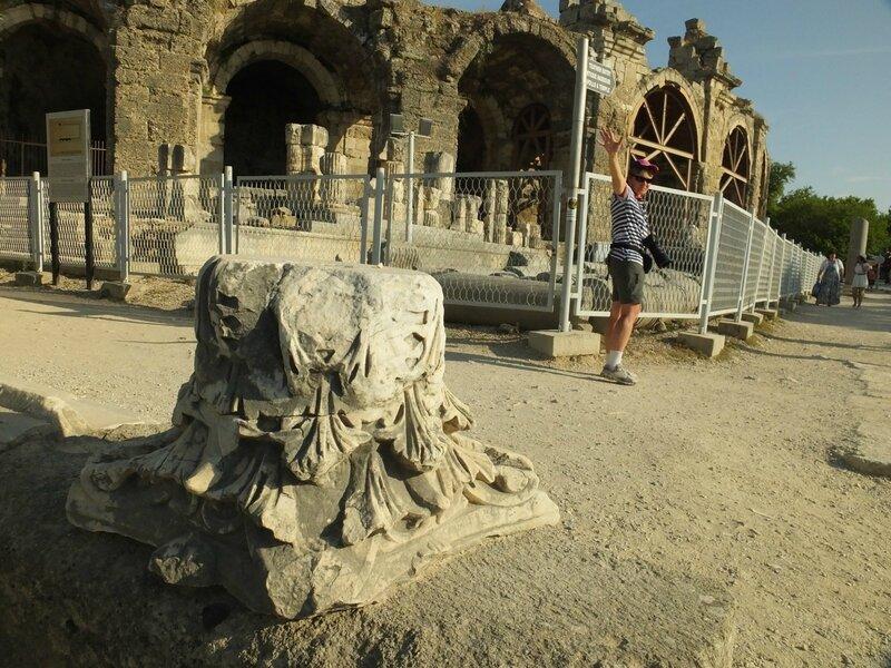 Турция, древний город Сиде