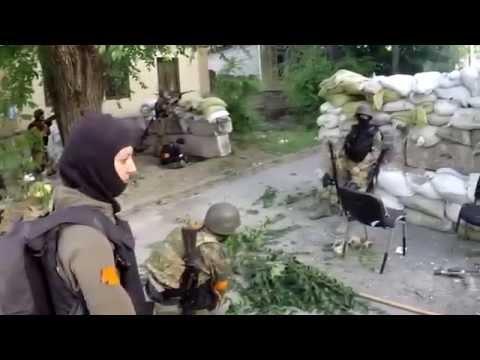 Освобождение Мариуполя от террористов (видео)