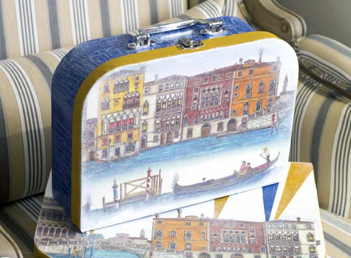 Декорируем чемоданчик