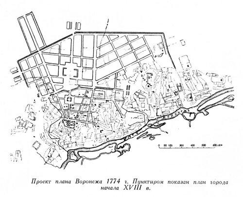 Воронеж, генплан