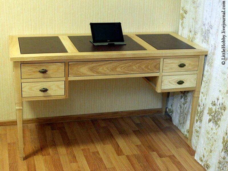 Как самому собрать стол письменный