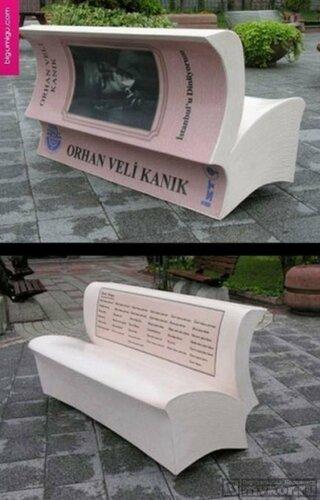 10-ка самых необычных скамеек