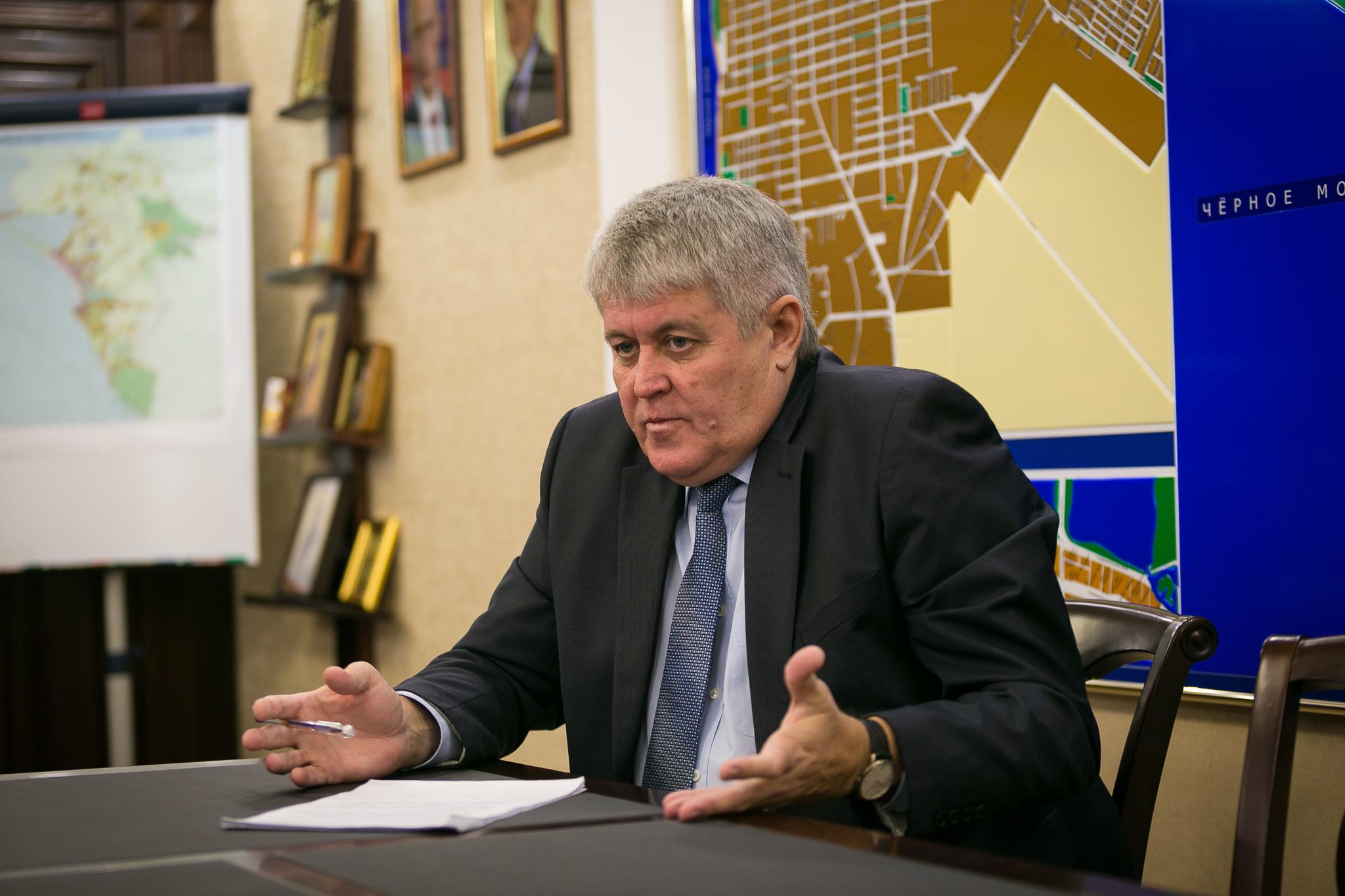 Мэр Анапы Сергеев