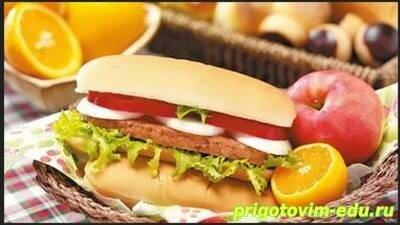 Сырные сандвичи с апельсином