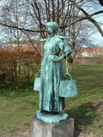 Памятник молочнице (Копенгаген)