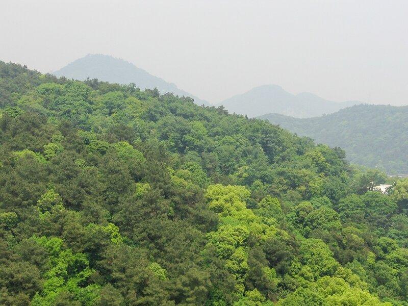 Горы, Ханчжоу