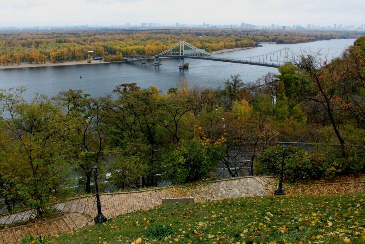 Днепр и Парковый мост