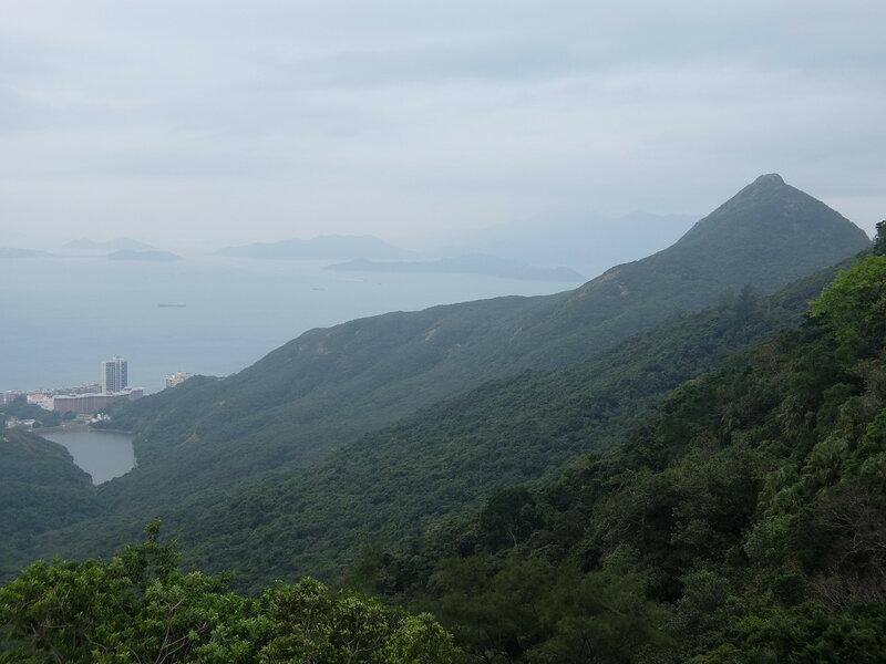 Гонконг - Горы с пика Виктория