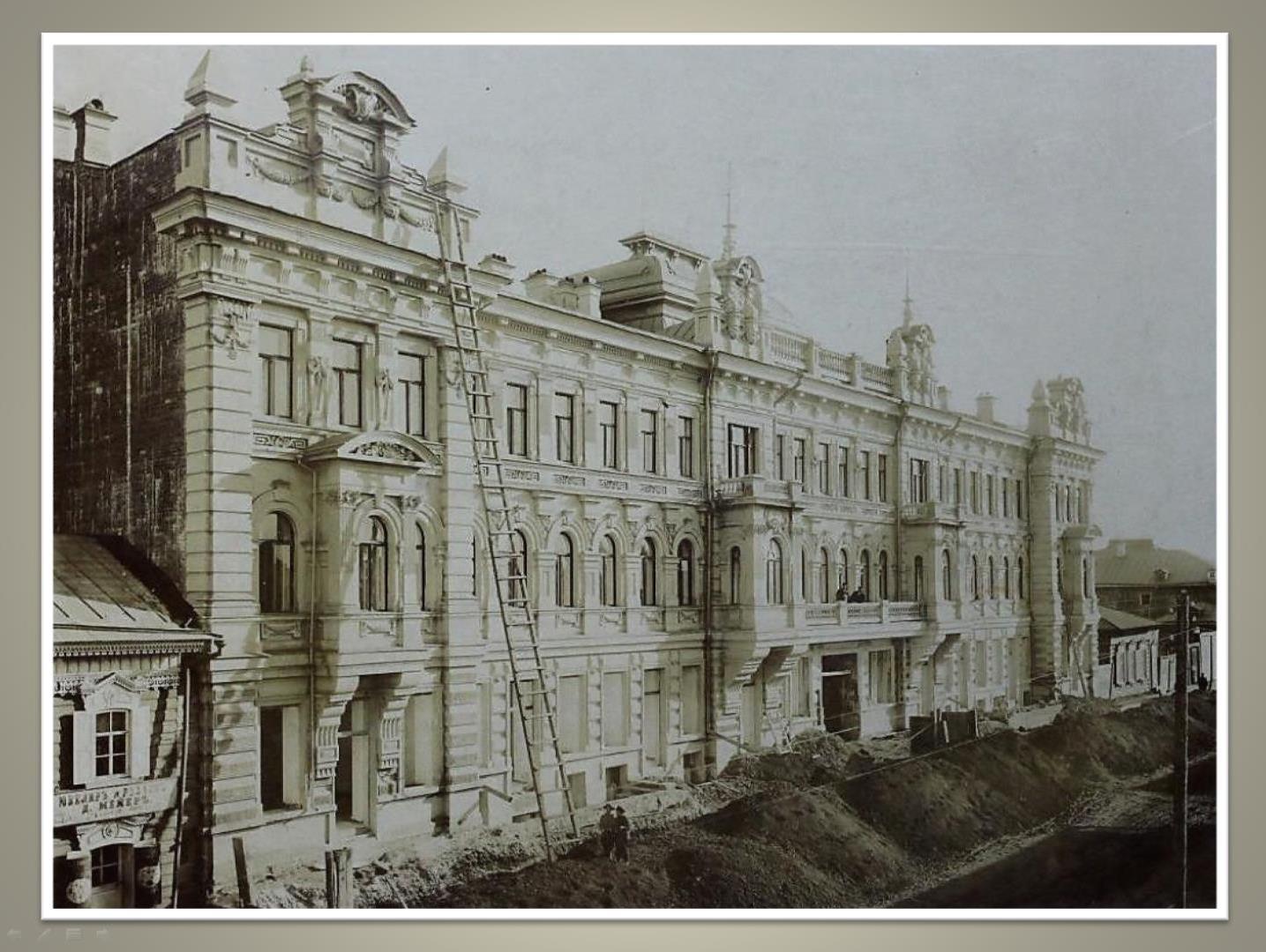 Дом архитектора Кузнецова на Арсенальской улице
