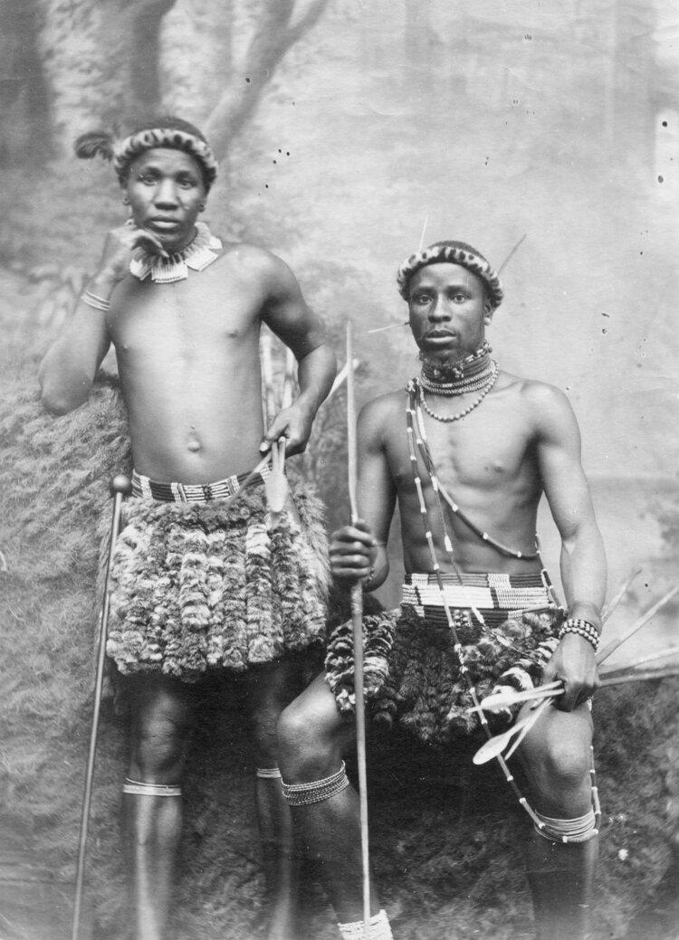 Зулусы. Южная Африка, в конце XIX века