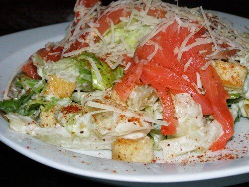 Салат цезарь с рыбой рецепт с фото