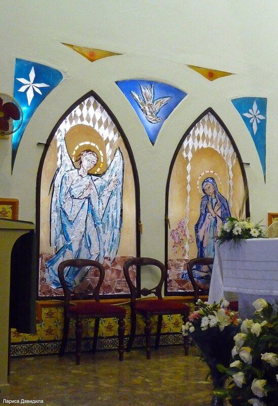 La Iglesia de Nuesra Senora del Carmen. (5)