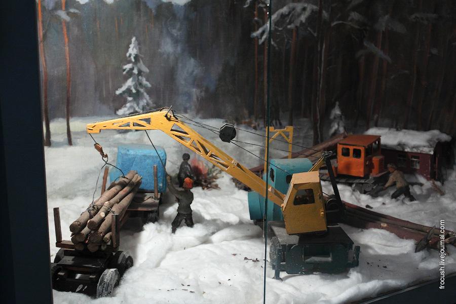 Зимние лесозаготовки