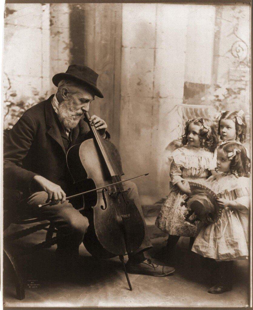 Музыканты.Винтажные фото