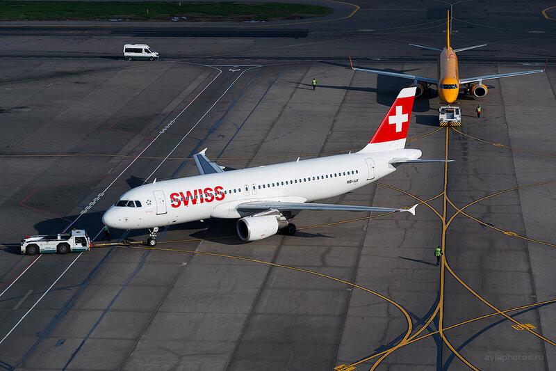Airbus A320-214 (HB-IJJ) Swiss D804663