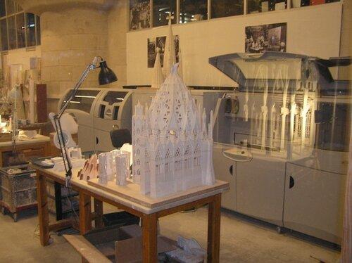 Творение Гауди в 3D-моделировании