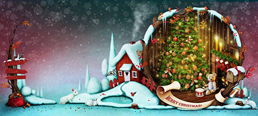 Новый год Рождество Картинка