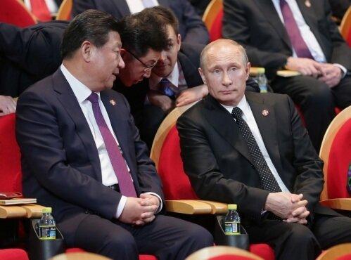 Си Цзиньпин и Путин