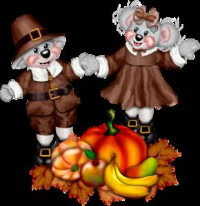мишки Тедди осень