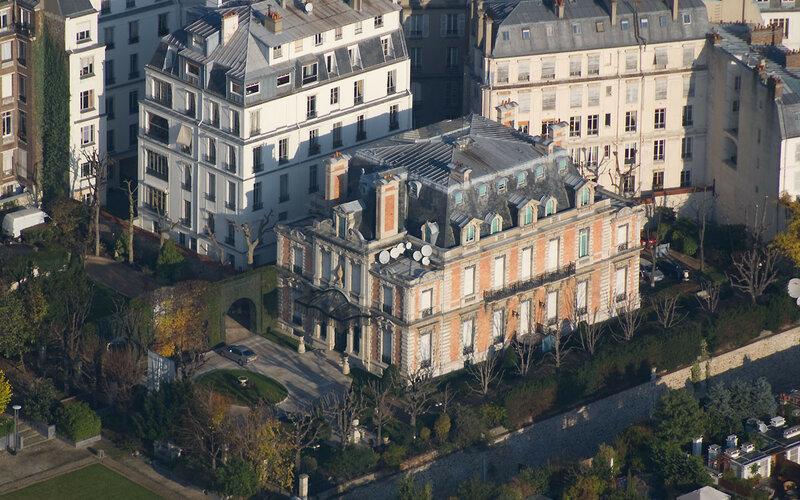 Hôtel particulier au 5, place d�Iéna, à Paris (16�)