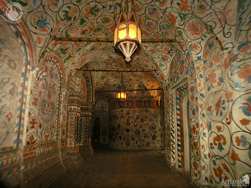Decorations of Interior Gallery - St. Basil's Cathedral
