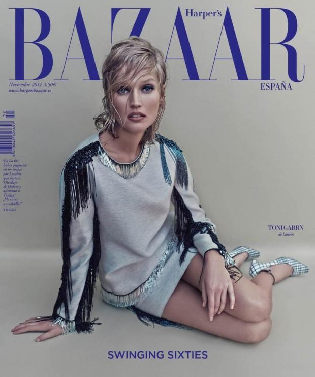 Тони Гаррн (Toni Garrn) в журнале Harper's Bazaar Spain
