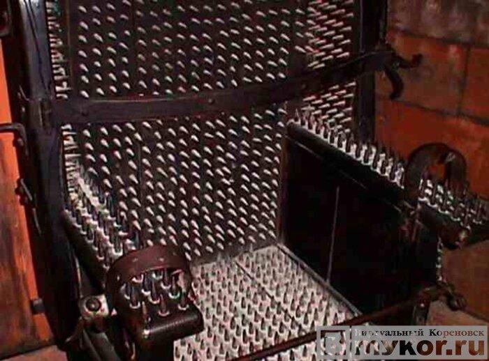 Пыточный стул Иуды фото