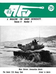 Журнал AFV-G2: A Magazine For Armor Enthusiasts Vol.4 No.04