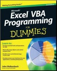 Книга Excel VBA Programming For Dummies, 2nd Ed