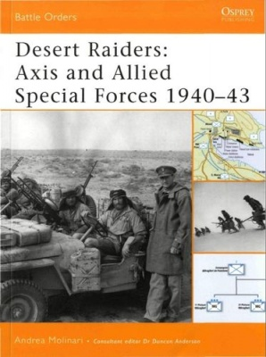 Книга Desert Raiders: Axis and Allied Special Forces 1940-43
