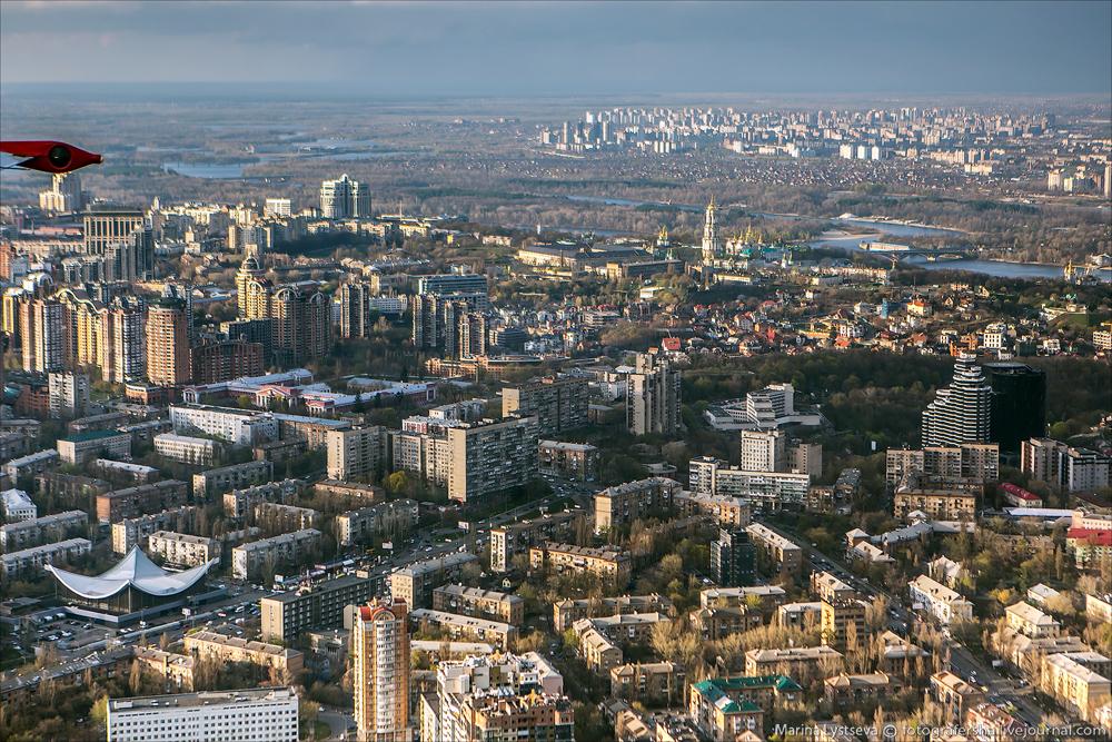 Киев сверху