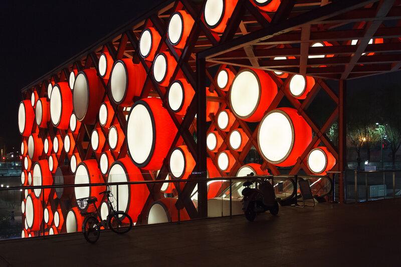 Барабаны, Олимпийский парк, Пекин