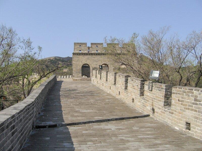 Стена и Сигнальная башня, Великая китайская стена, Бадалин