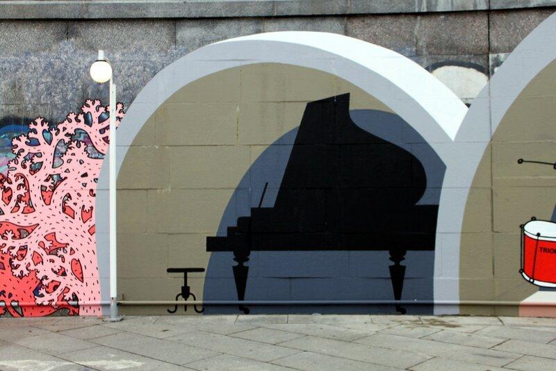 Граффити Пианино