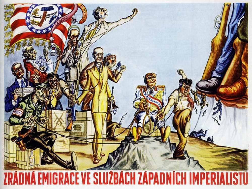 Коварная эмиграция на службе у западных империалистов