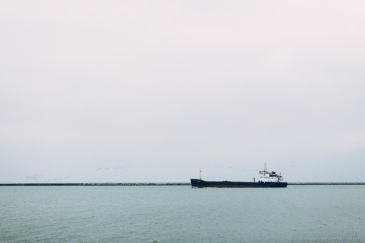 Корабли в Балтийске