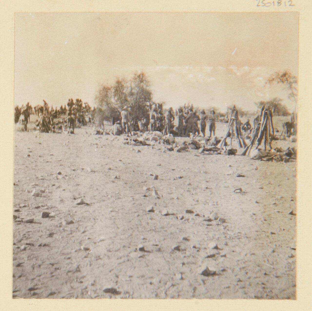 25-31 августа 1898. Бивуак в Эль-Хаджаре