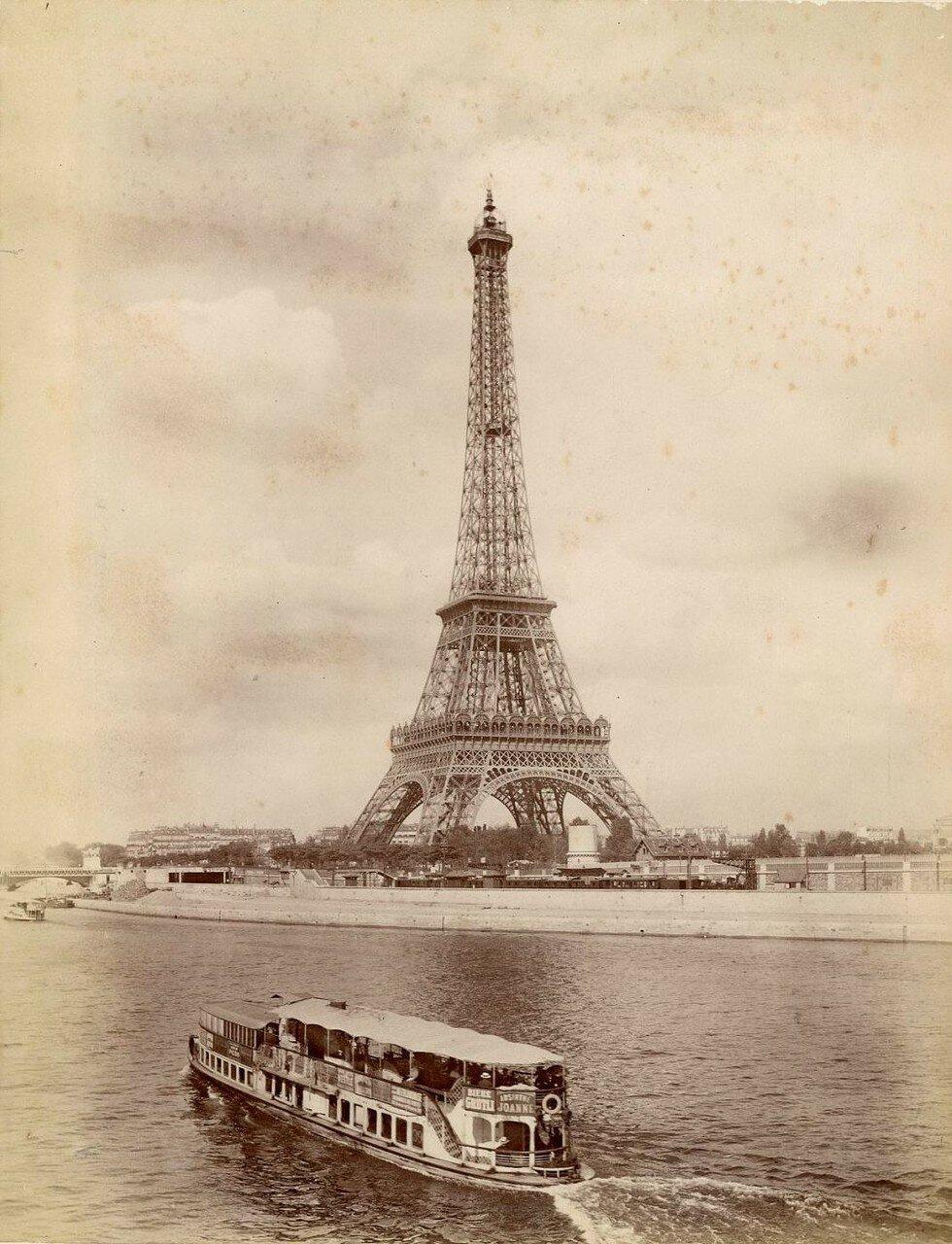 1880-е.  Эйфелева башня