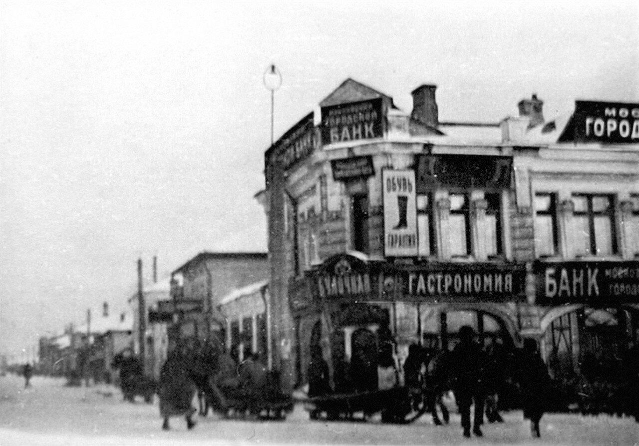 Вид на Коломенскую улицу