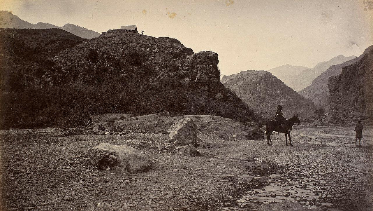 21. Вид на крепость Али Масджид с реки