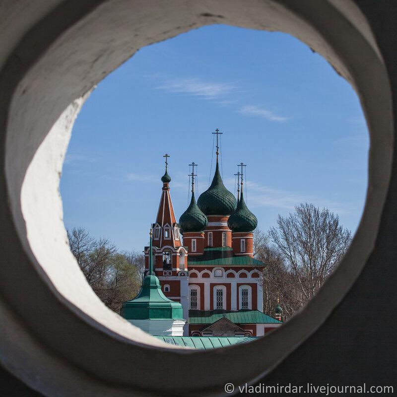 Церковь Михаила Архангела. Ярославль. Золотое Кольцо.