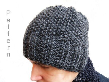 hat beanie adult teen n15 price $ 4 knit pattern in pdf hat beanie