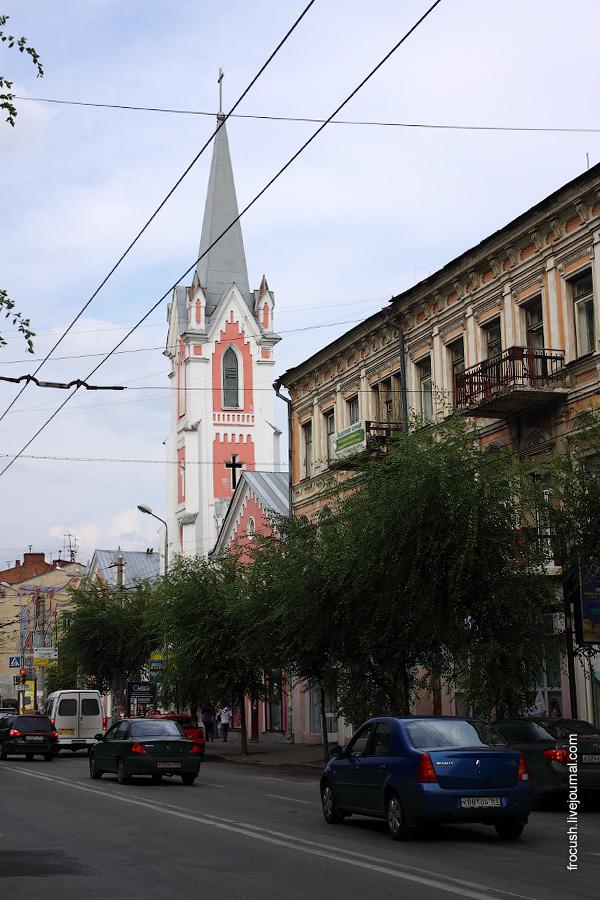 Евангелическо-лютеранская община (приход) Святого Георга, гостиница «Бристоль-Жигули»