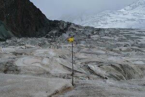 на леднике Звездочка