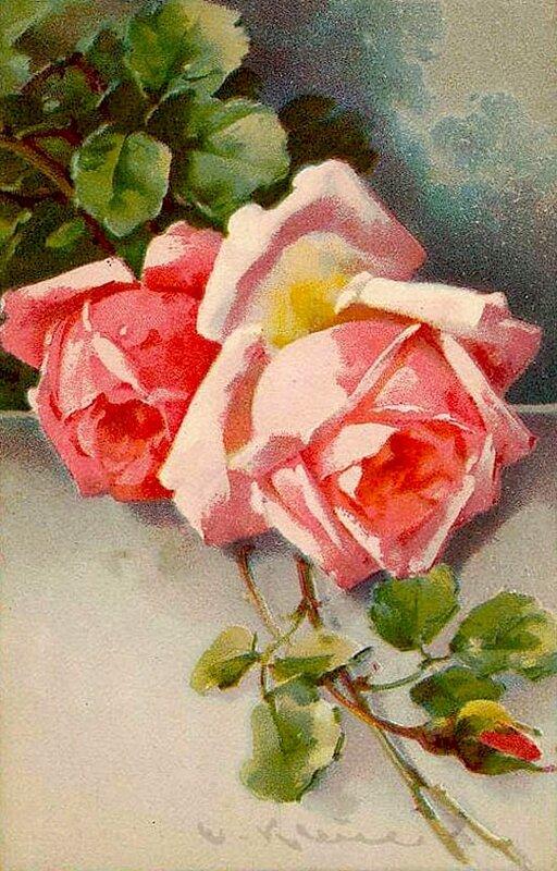 К. Кляйн.  45. Розы.
