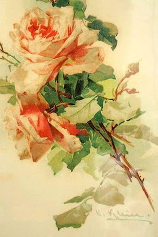 К. Кляйн. 135. Розы.