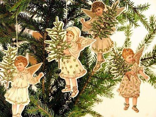 Новогодние украшения из открыток своими руками