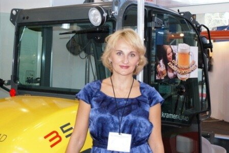 Купи минипогрузчик KRAMER акция КИИТ на выставке ITFM CEMAT Россия 2010