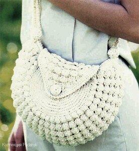 Вязание сумок Вязание крючком, схемы.