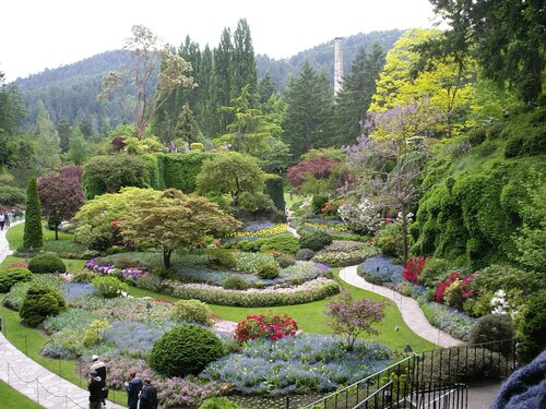 Canada gardens